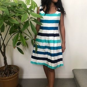 Nine West Striped Sleeveless Dress